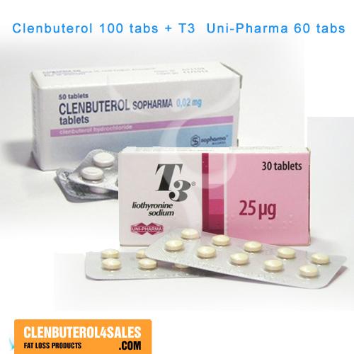 Clenbuterol 100 Tabs & Cytomel T3 60 Tabs