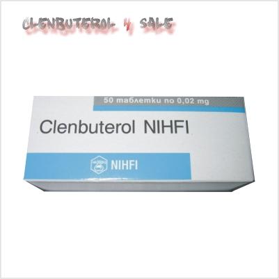 Clenbuterol 20 mcg (50 tabs)