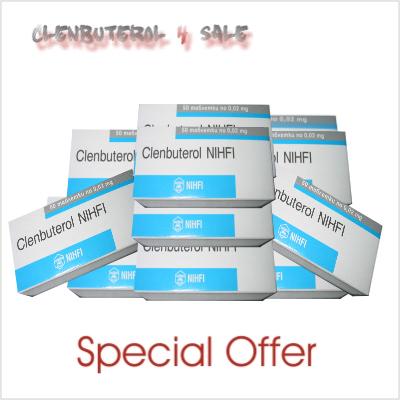 Clenbuterol 10 boxes 500 tabs/20mcg
