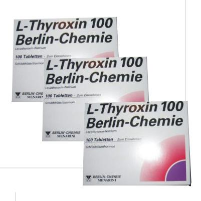 T4 L-Thyroxin 300 Tabs 3 boxes