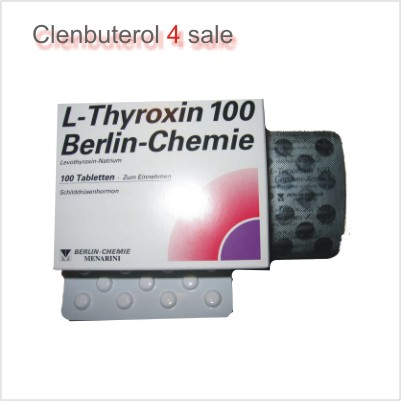 T4 (L-Thyroxin 100) 2 boxes (200 tabs)